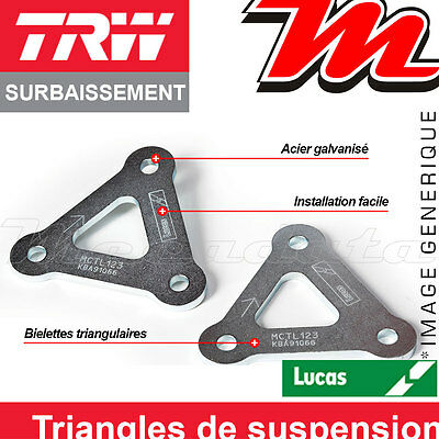 Kit de Rabaissement TRW Lucas - 30 mm TRIUMPH Tiger 1050 ABS 2008