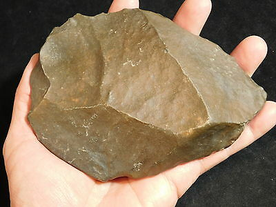 A BIG! ONE Million Year Old Early Stone Age ACHEULEAN HandAxe Mauritania 542gr