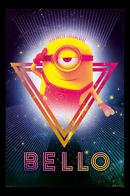 Despicable Me 3 80's Bello Official Poster New - Maxi Size 36 x 24 Inch