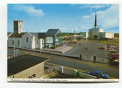 Knock, Co. Mayo - Basilica of Our Lady Queen - John Hinde modern-size postcard