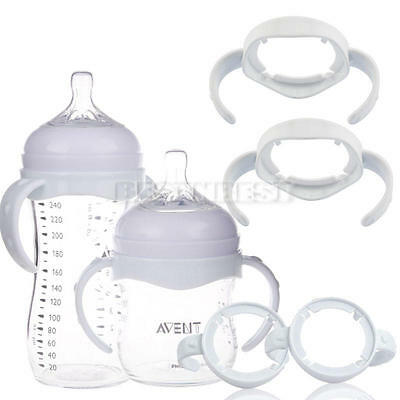 Plastic Handles Holder For Baby Cup Feeding Bottle Trainer Easy Grip Accessories