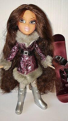 BRATZ Puppe SUPER SÜSS  SELTEN  * YASMIN     *  WINTER FUN