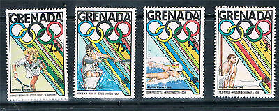 Grenada 1989 Olympic Winners pt set SG 1972/77 MNH