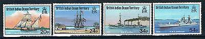 British Indian Ocean Territory 1991 Visiting Ships SG 115/8 MNH