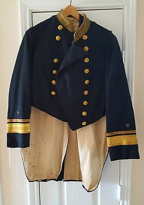 Civil War Admiral's Jacket and Vest Named to Dogget