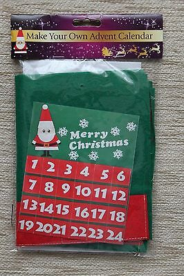 Make Your Own Advent Calendar Kit *NEW* *SEALED* - Crafts/Christmas/Kids
