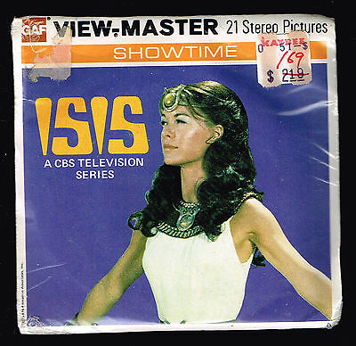 Factory Sealed - ISIS CBS TV T 100 1976 - VIEW-MASTER Packet GAF G5