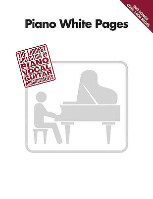 Piano White Pages Vol 1 Sheet Music Guitar Chords Lyrics 200 Pop