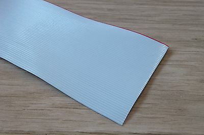 3M Flat Ribbon Cable Grey 1.27mm pitch AWG28 50 Way - 1 Metre