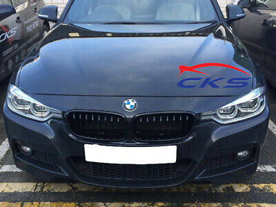 BMW F30 F31 3 Series Kidney Grill Grille Gloss Black Saloon Touring