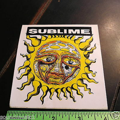 """Sublime Sticker: 40 oz. to Freedom (4"""" by 4"""")"""