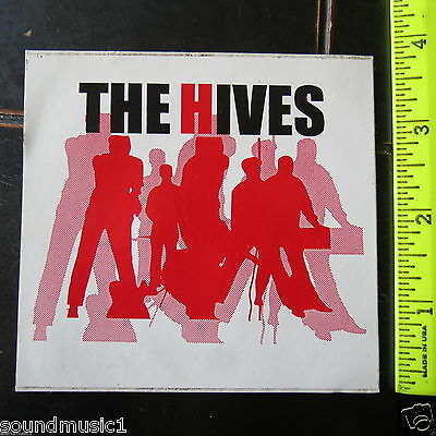 """The Hives: Sticker (4"""" by 4"""")"""