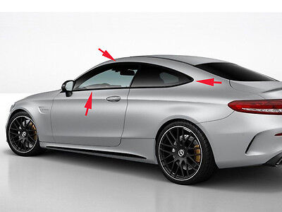 Mercedes C63 S C205 C Class Coupe Windows Night Package Trims MERCEDES-BENZ AMG