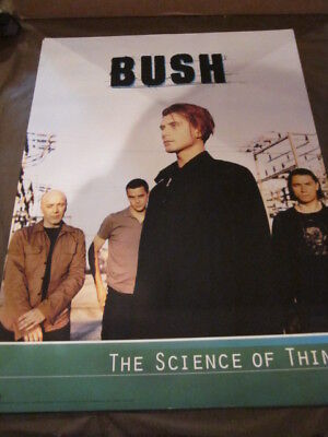 Bush Science of Things  In-Store Promo Poster