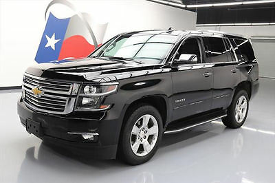 2016 Chevrolet Tahoe LTZ Sport Utility 4-Door 2016 CHEVY TAHOE LTZ 4X4 7PASS SUNROOF NAV DVD 20'S 36K #241875 Texas Direct