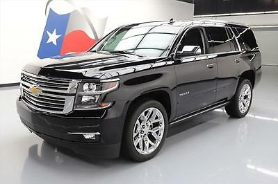 2016 Chevrolet Tahoe LTZ Sport Utility 4-Door 2016 CHEVY TAHOE LTZ 4X4 7PASS SUNROOF NAV DVD 22'S 20K #114767 Texas Direct