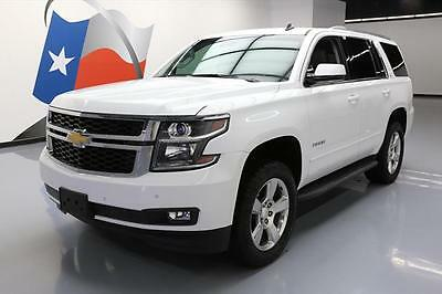 2015 Chevrolet Tahoe LT Sport Utility 4-Door 2015 CHEVY TAHOE LT 4X4 7-PASS HTD SEATS REAR CAM 20'S  #136052 Texas Direct