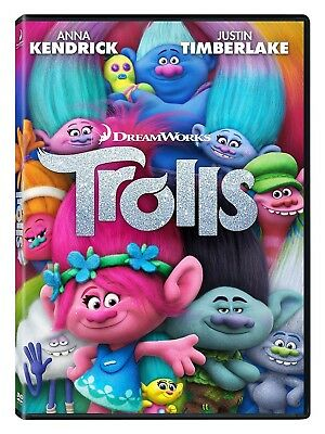 Trolls (DVD, 2017, Includes Digital Copy) NEW