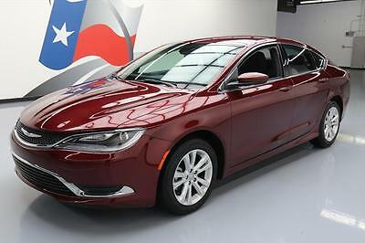 2016 Chrysler 200 Series  2016 CHRYSLER 200 LIMITED BLUETOOTH REAR CAM ALLOYS 29K #163940 Texas Direct