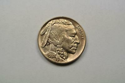 CH BU 1938-D/S Buffalo, Indian Head Nickel - C3515
