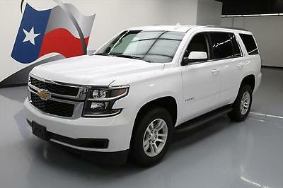 2017 Chevrolet Tahoe LT Sport Utility 4-Door 2017 CHEVY TAHOE LT 8-PASS HTD LEATHER NAV REAR CAM 14K #133928 Texas Direct
