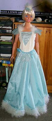 Mint! Adult Owned Vintage 1992 Mattel 3Ft My Size Dancing Barbie Doll W/ Stand