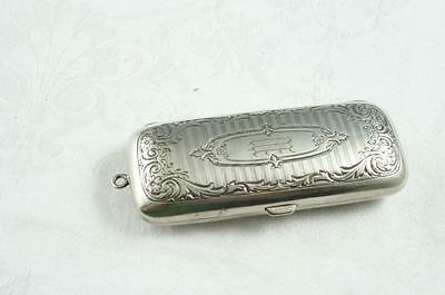 Art Deco German Silver Chatelaine Coin Holder
