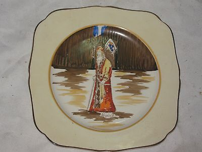 An Old H&K Tunstall Skylock Hand Painted Cabinet Display Series Ware Plate