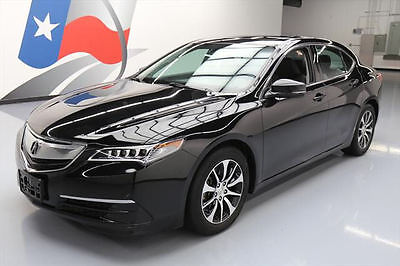 2015 Acura TLX  2015 ACURA TLX HTD LEATHER SUNROOF REARVIEW CAM 45K MI #007404 Texas Direct Auto