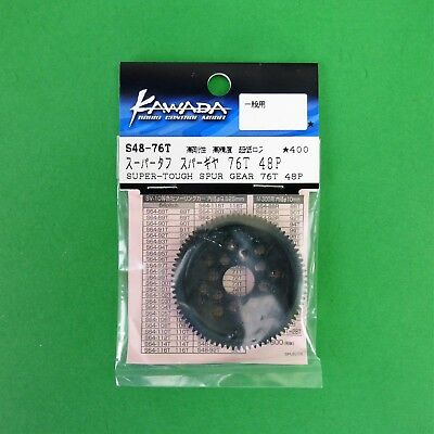 76T 48 dp 48pitch spur gear for 1: 10 RC may suit Sakura Tamiya HPI etc