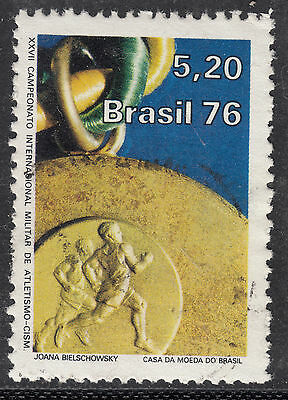 BRAZIL 1976 5cr20 Military Athletics Very Fine Used