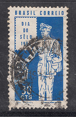 BRAZIL 1969 30c Stamp Day   Very Fine Used