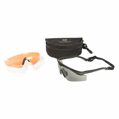 Revision Brille Sawfly Deluxe Mission Kit schwarz