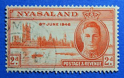 1946 NYASALAND 2d SCOTT# 83 S.G.# 159 USED                               CS20974