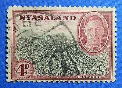 1945 NYASALAND 4d SCOTT# 73 S.G.# 149 USED                               CS20962