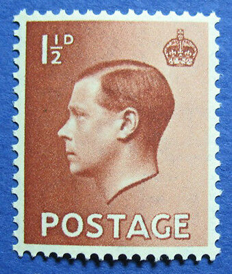 1936 GREAT BRITAIN 1 1/2d Scott# 232 S.G.#459 UNUSED NH CS04050