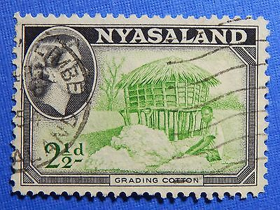 1953 NYASALAND 2 1/2d SCOTT# 101 S.G.# 177 USED                      CS20988