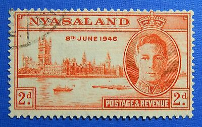1946 NYASALAND 2d SCOTT# 83 S.G.# 159 USED                               CS20973