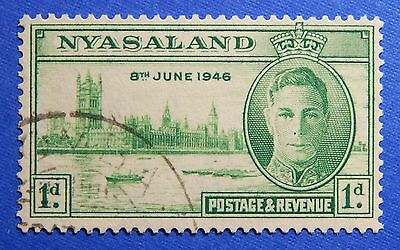 1946 NYASALAND 1d SCOTT# 82 S.G.# 158 USED                               CS20970