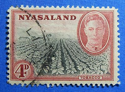 1945 NYASALAND 4d SCOTT# 73 S.G.# 149 USED                               CS20961
