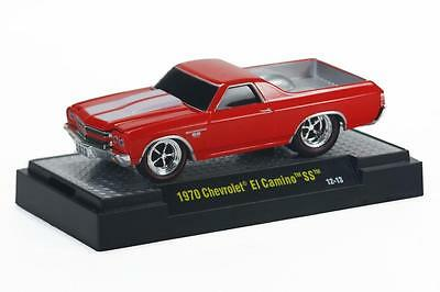 M2 Machines Ground Pounders 1:64 1970 Chevrolet El Camino SS rot GP11A