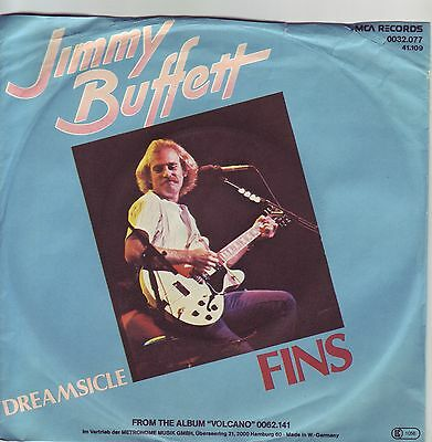 """7"" - JIMMY BUFFETT - Fins"