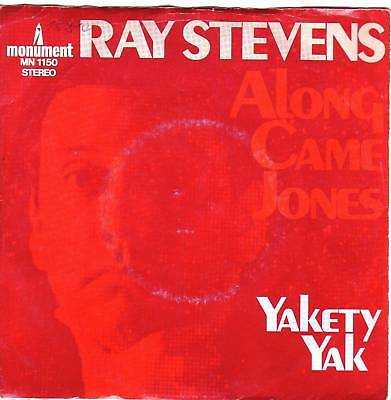"""7"" - RAY STEVENS - Along came Jones"
