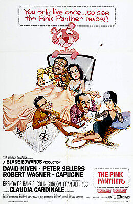 The Pink Panther Laminated Mini Poster Print Peter Sellers
