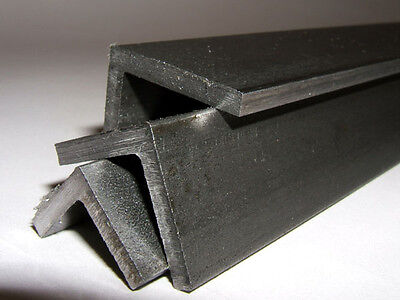 Bright Mild Steel Angle 3mm  20 x 20  Square edge- corners & roots