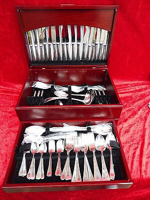 noble,high-quality Cutlery__sheffiel 100__113Teile___in the beautiful Wooden box