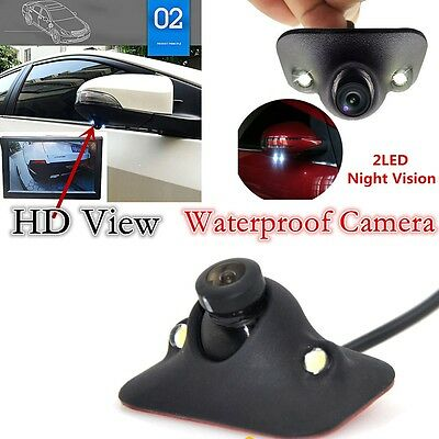 170°  HD Waterproof Car Front View Side View Blind Spot Camera Night Vision -NEW