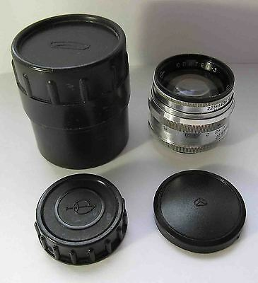 Jupiter-3 fast lens 50mm f1.5 M39 L39 screw 6205775 LTM Leica micro 4/3 Sony NEX