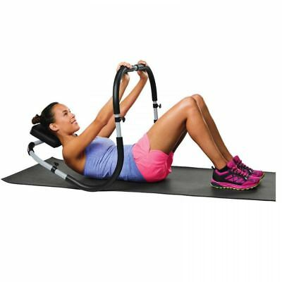 Sit up abdominal roller trainer ab crunch core worker abs exercise machine gym