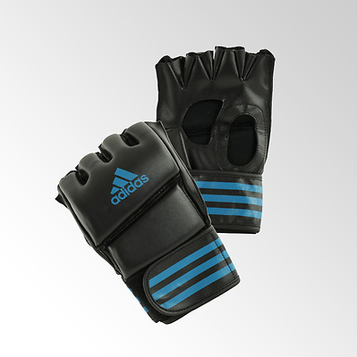 "Adidas Grappling Gloves ""Training"" - Black/Blue"